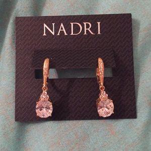 Nadri drop earrings